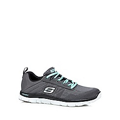 Skechers - Dark grey 'Sweet Spot' memory foam trainers
