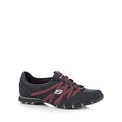 Skechers - Dark grey 'Bikers Verified' suede trainers