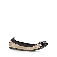 Call It Spring - Gold 'Mcsorley' metallic pumps