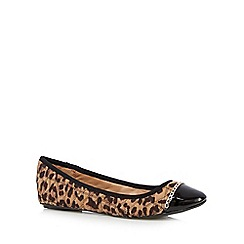 Call It Spring - Natural 'Senon' leopard quilted pumps