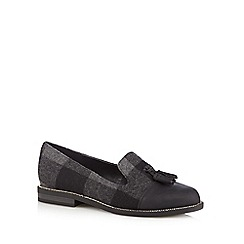 Call It Spring - Black 'Carzago' tartan loafers