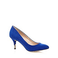 Call It Spring - Bright blue 'Kedalin' suedette court shoes
