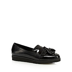 Call It Spring - Black patent 'Lapole' loafers
