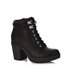Call It Spring - Black 'Galiredien' high heeled ankle boots