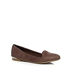 Call It Spring - Taupe 'Ibbotson' textured pumps