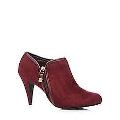 Call It Spring - Wine 'Vindola' high ankle shoes