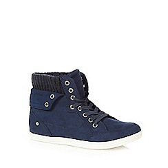 Call It Spring - Navy 'Cuomo' lace up shoes