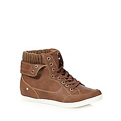 Call It Spring - Tan 'Cuomo' lace up shoes