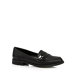 Call It Spring - Black 'Muriella' patent strap loafers