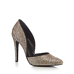 Call It Spring - Gold 'Agrelinna' court shoes