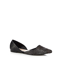 Call It Spring - Black 'Alithia' diamante pointed pumps