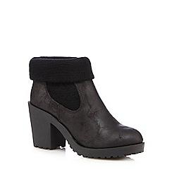 Call It Spring - Black 'Peardon' high Chelsea boots