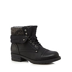 Call It Spring - Black 'Saren' ankle boots