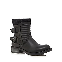 Call It Spring - Black 'Vanessa' ankle boots