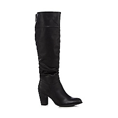 Call It Spring - Black 'Bera' high heeled boots