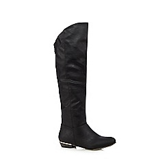 Call It Spring - Black 'Gervaise' high leg boots