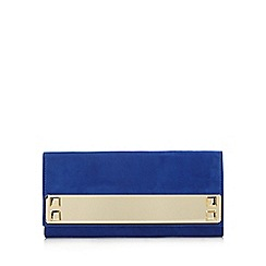 Call It Spring - Blue 'Wingert' bar clutch bag