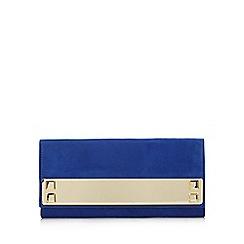 Call It Spring - Blue 'Wingert' bar clutch bag