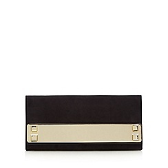 Call It Spring - Black 'Wingert' bar clutch bag