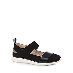 Clarks - Black 'Junelle Polly' leather shoes