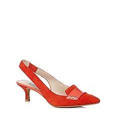 Clarks - Coral 'Aquifer Sorbet' suede mid sandals