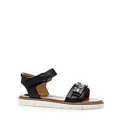 Clarks - Black 'Lydie Joelle' leather sandals
