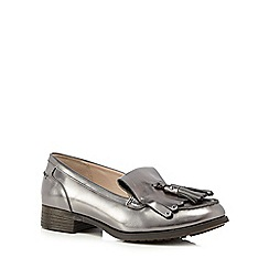 Clarks - Metallic Busby Folly loafers