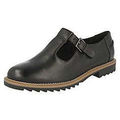 Clarks - Black 'Griffin Monty' patent shoes