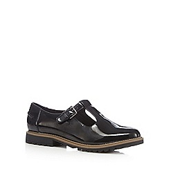 Clarks - Black 'Griffin Monty' shoes