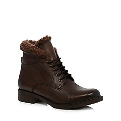 Clarks - Dark brown ankle boots
