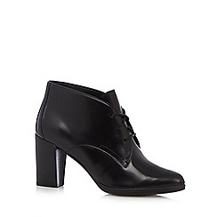 Clarks - Black 'Kadri Alexa' leather high boots