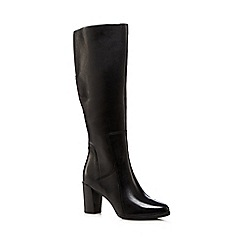 Clarks - Black 'Ariana' leather boots