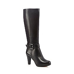 Clarks - Black knee-high boots