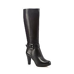 Clarks - Black knee-high boots
