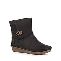Clarks - Black Lima Caprice ankle boots