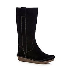 Clarks - Black 'Lima Rhapsody' knee-high boots