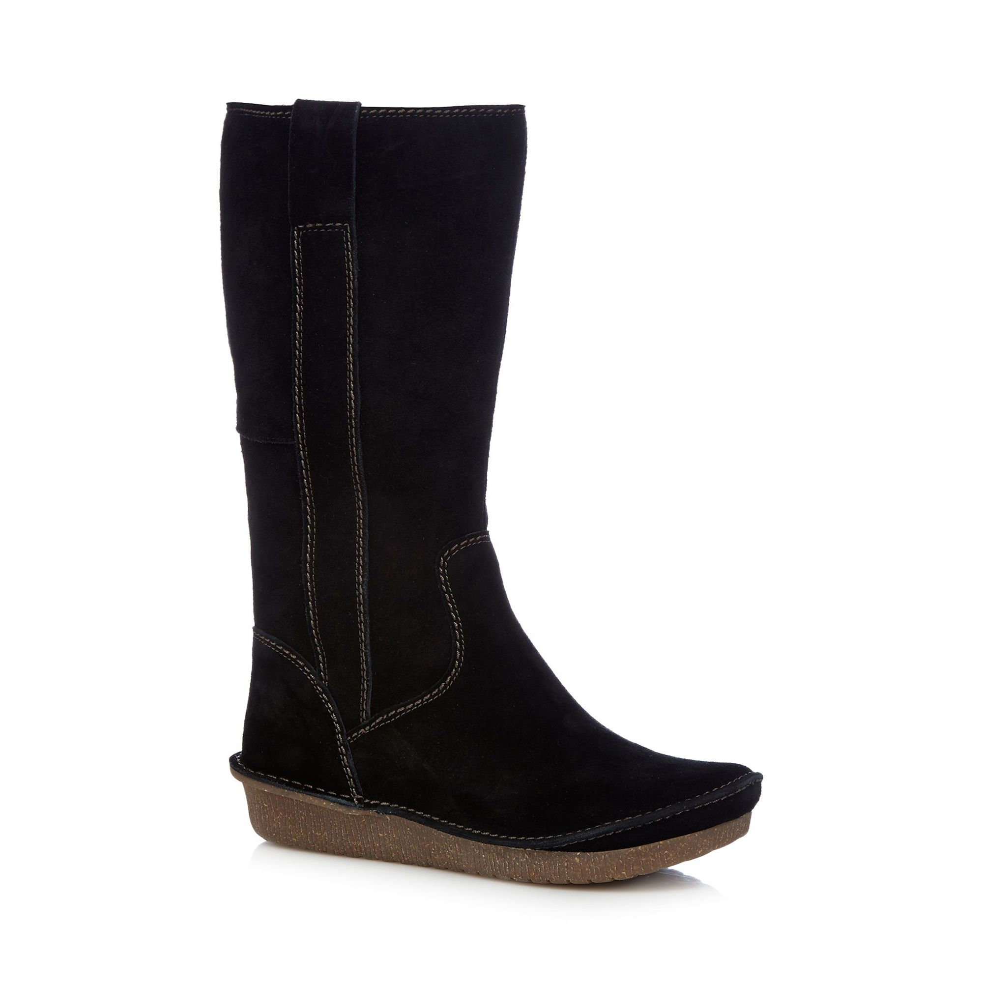 clarks womens black lima rhapsody knee high boots from