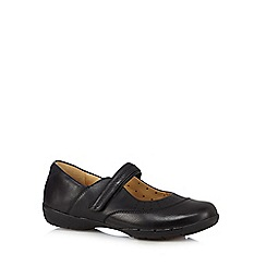 Clarks - Black 'Un Hazel' leather shoes