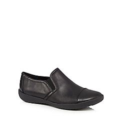 Clarks - Black 'Belgrave Venus' slip on shoes