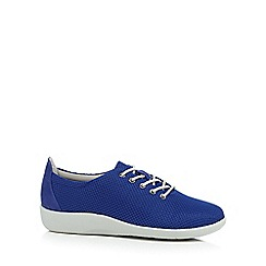 Clarks - Blue 'Sillian Tino' casual shoes