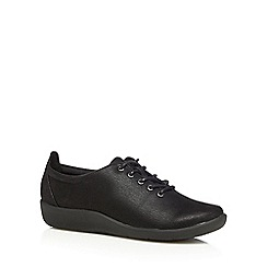Clarks - Black 'Sillian Tino' trainers