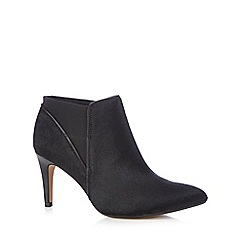 Clarks - Black pony hair 'Dalhart Salsa' boots