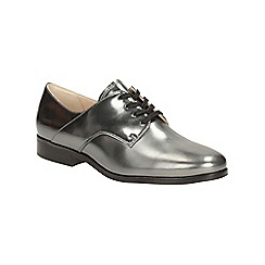 Clarks - Dark pewter metallic hotel dream brogue