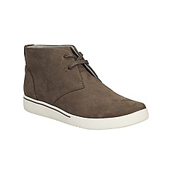 Clarks - Brown 'penwick mezza' lace up ankle boot
