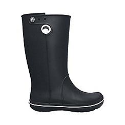 Crocs - Black crocband jaunt rain boot