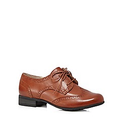 Hotter - Tan leather brogue