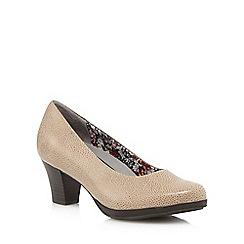 Hotter - Grey 'Angelica' mid heel shoes