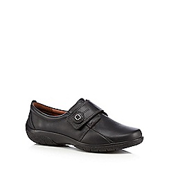 Hotter - Black 'Sugar' leather shoes