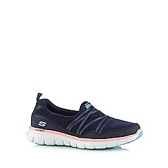 Skechers - Navy 'Synergy' trainers