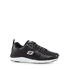 Skechers - Black 'Valeris' lace up trainers